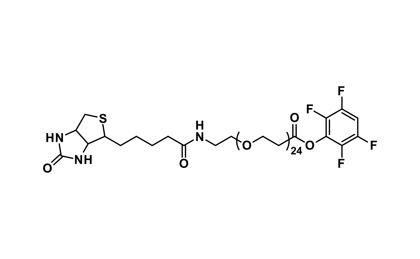 Biotin-dPEG®₂₄-TFP ester
