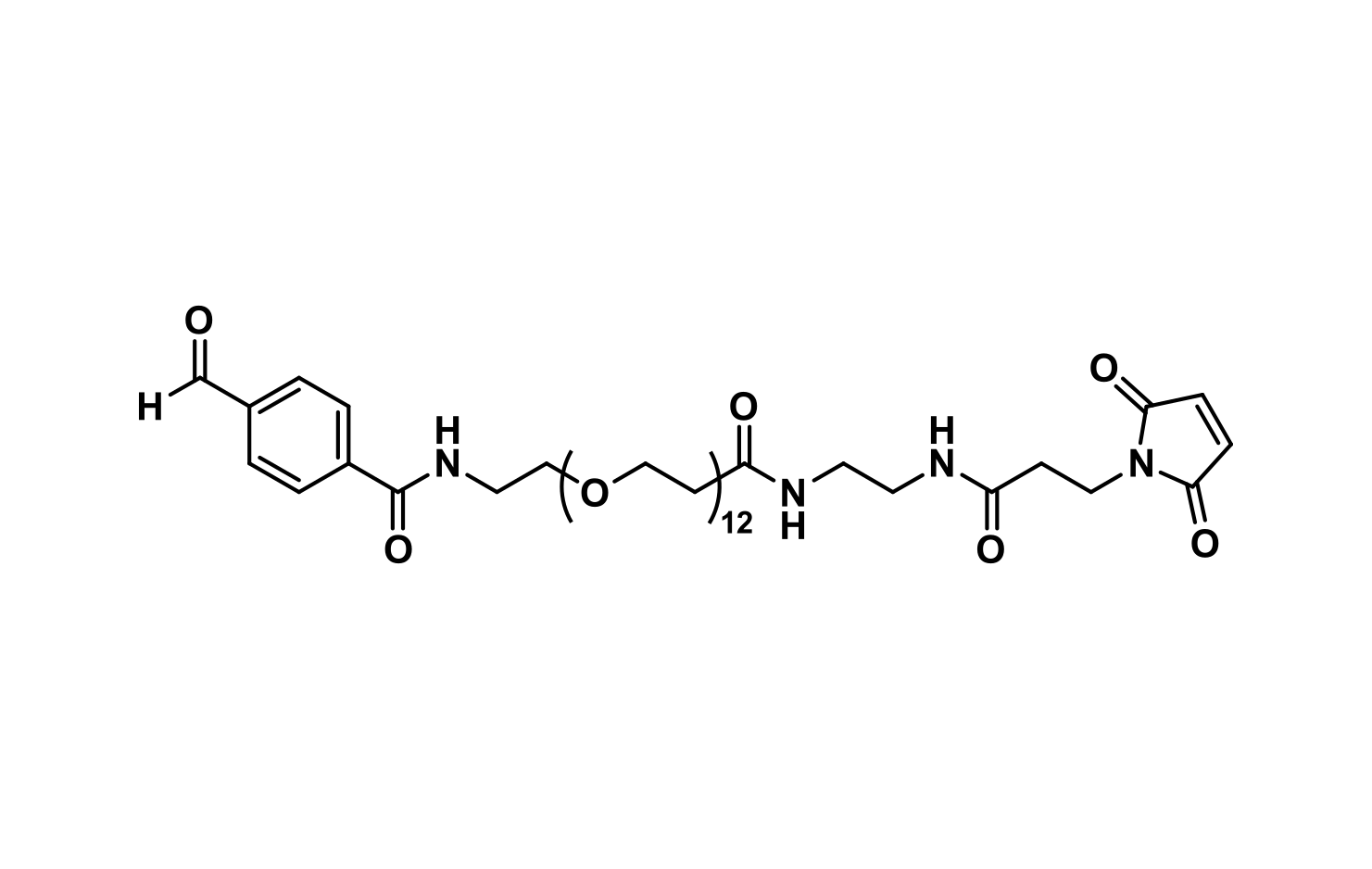 4-formyl-benzamido-dPEG®₁₂-EDA-MAL