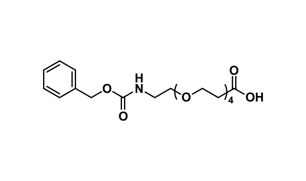 CBZ-N-amido-dPEG®₄-acid