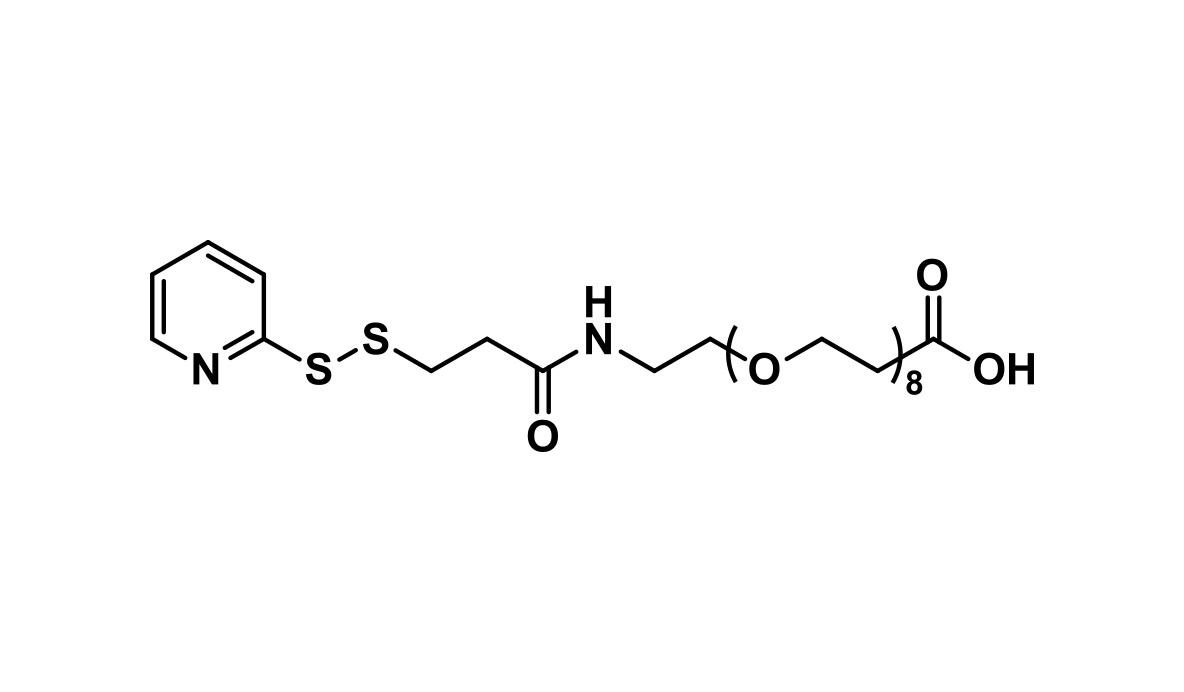 SPDP-dPEG®₈-acid