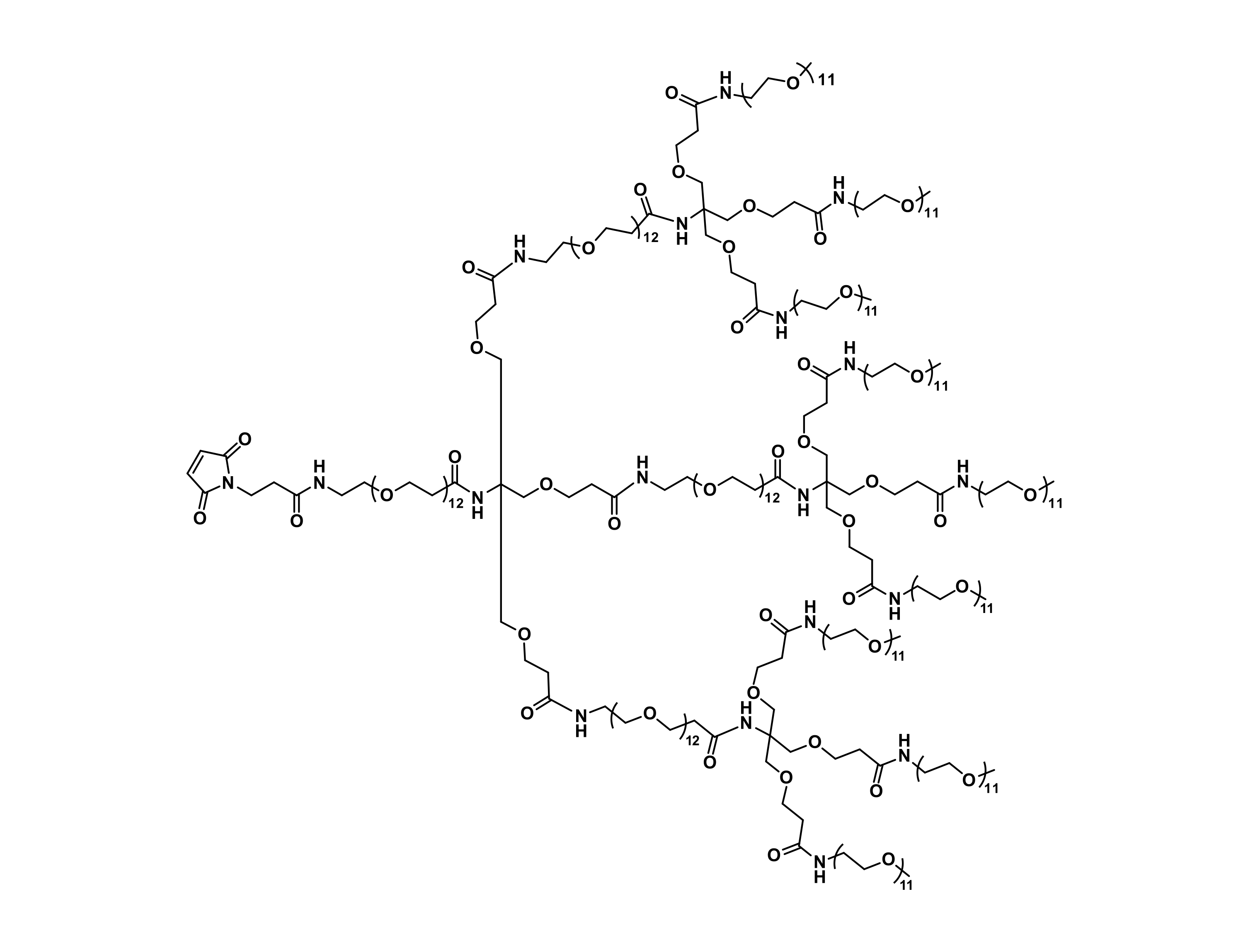 MAL-dPEG®₁₂-Tris(dPEG®₁₂-Tris(m-dPEG®₁₁)₃)₃
