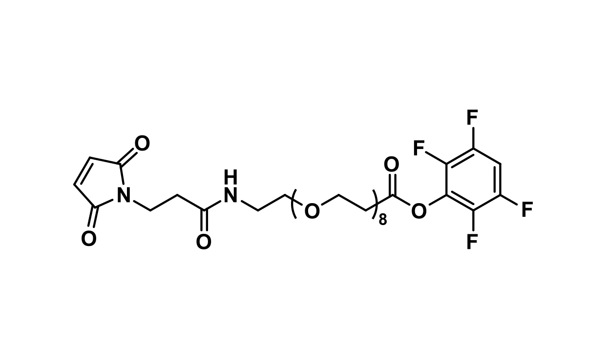 MAL-dPEG®₈-TFP ester