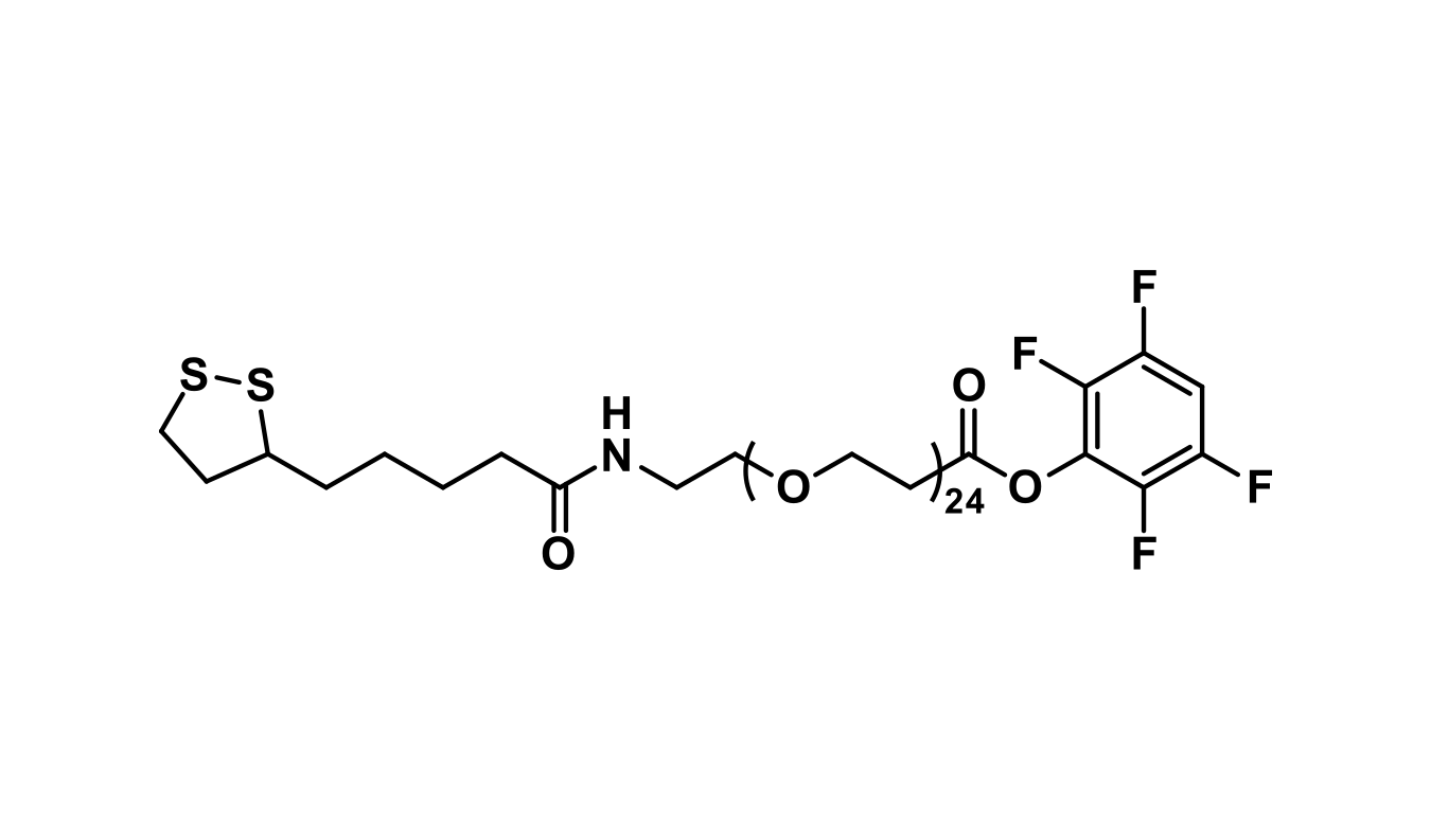 Lipoamido-dPEG®₂₄-TFP ester