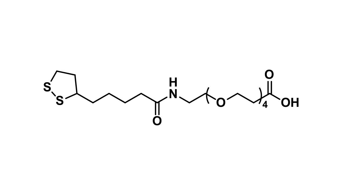 Lipoamido-dPEG®₄-acid