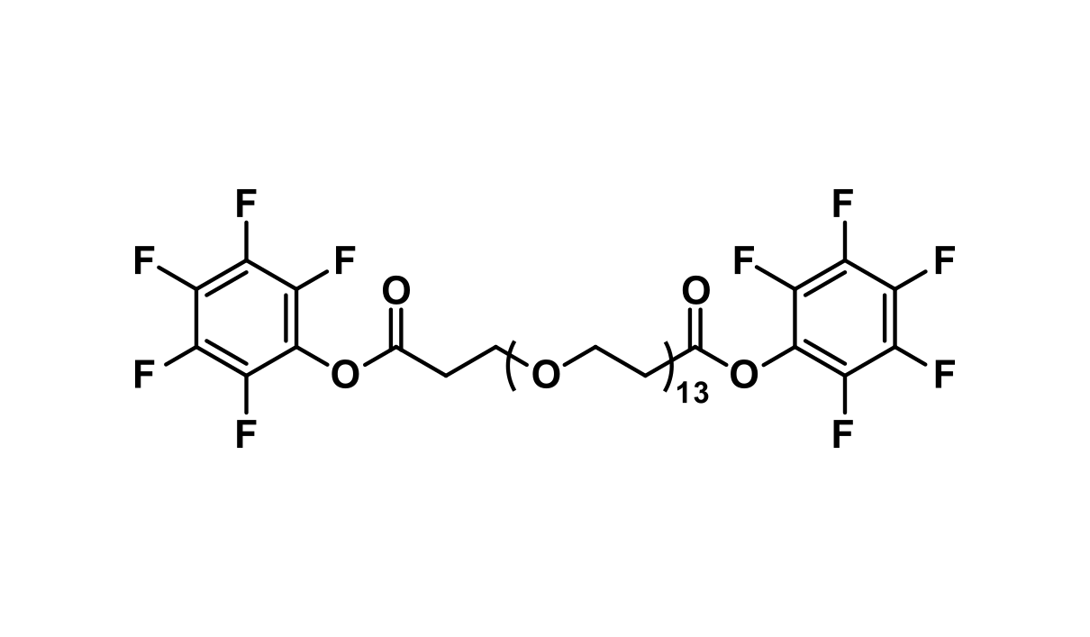 Bis-dPEG®₁₃-PFP ester