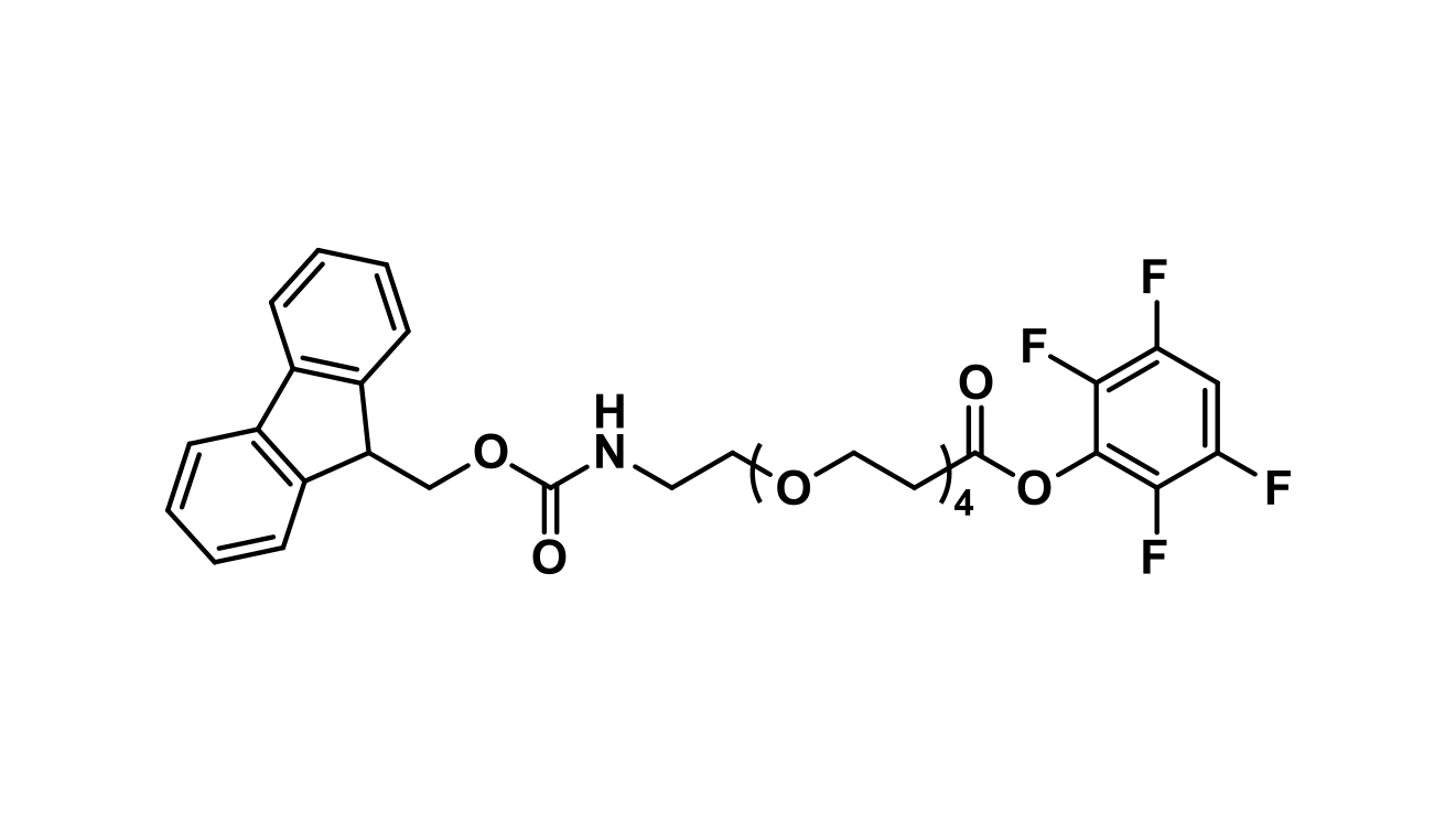 Fmoc-N-amido-dPEG®₄-TFP ester