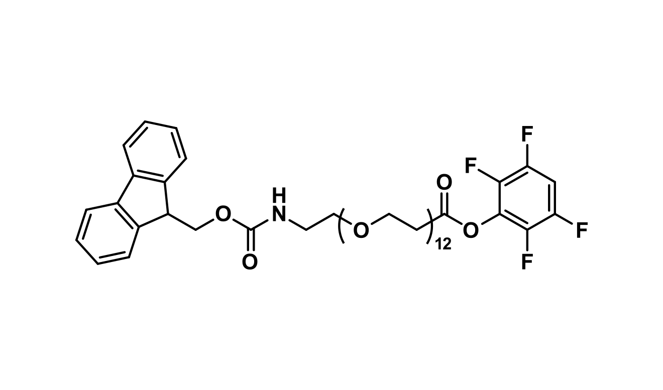 Fmoc-N-amido-dPEG®₁₂-TFP ester