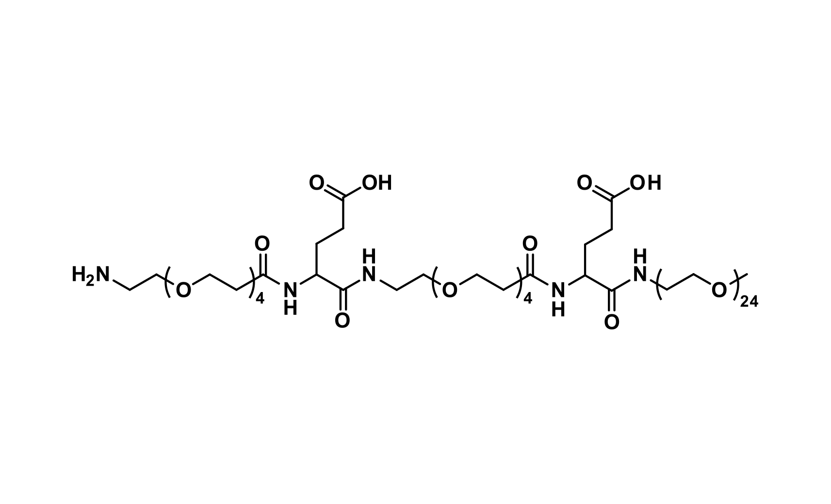 NH₂-dPEG®₄-Glu(OH)-NH-dPEG®₄-Glu(OH)-NH-m-dPEG®₂₄