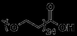 Figure 10: Product number 10339, m-dPEG®24-acid