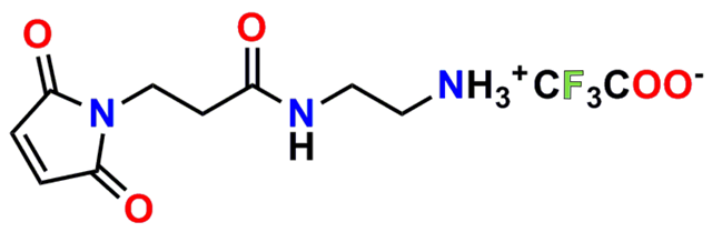 Figure 16 shows the chemical structure of product number 10177, MPS-EDA∙TFA.