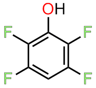 Figure 3 shows the structure of 2,3,5,6-tetrafluorophenol, which is used to make Quanta BioDesign's TFP ester-functionalized maleimide crosslinker products.