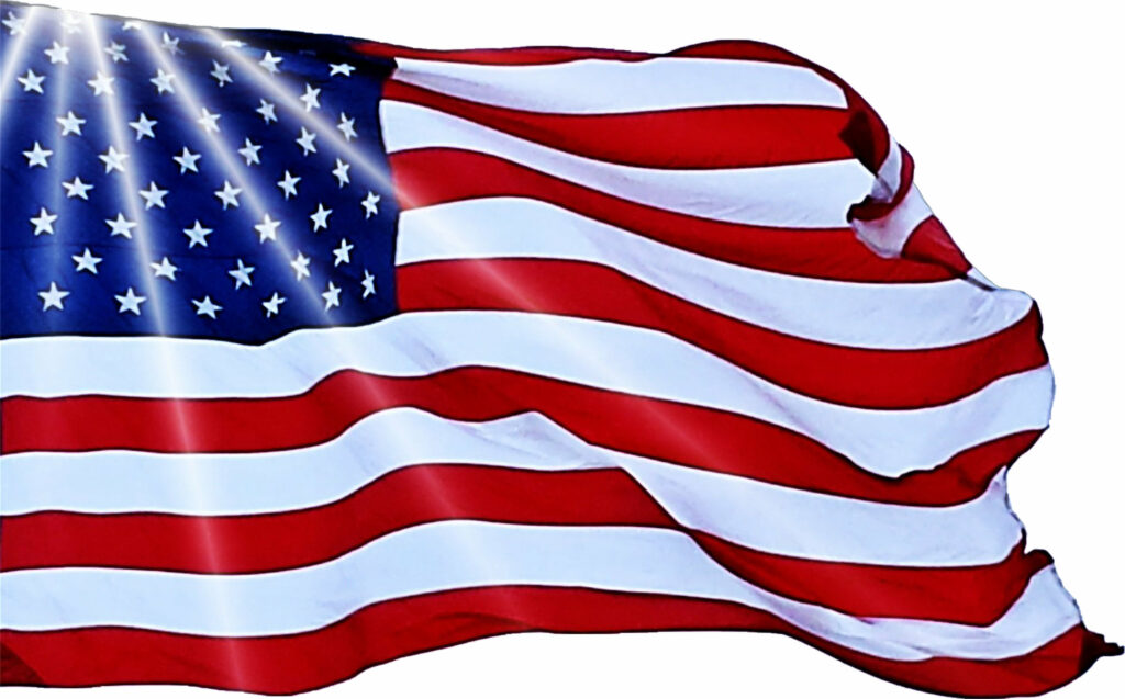 USA flag, Image by D William from Pixabay